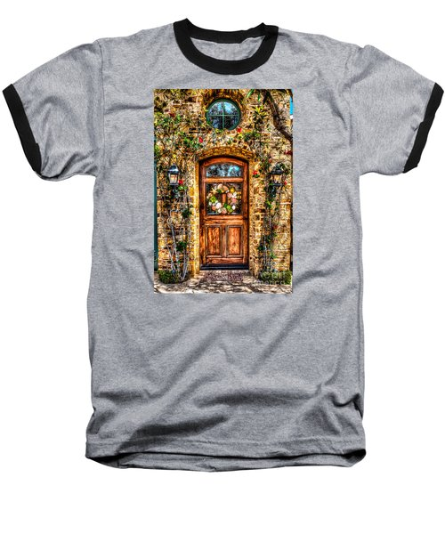 Baseball T-Shirt featuring the photograph Beautiful Entry by Jim Carrell