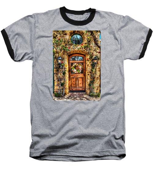 Beautiful Entry Baseball T-Shirt by Jim Carrell