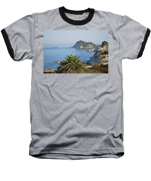Baseball T-Shirt featuring the photograph Beautiful Erikousa 1 by George Katechis