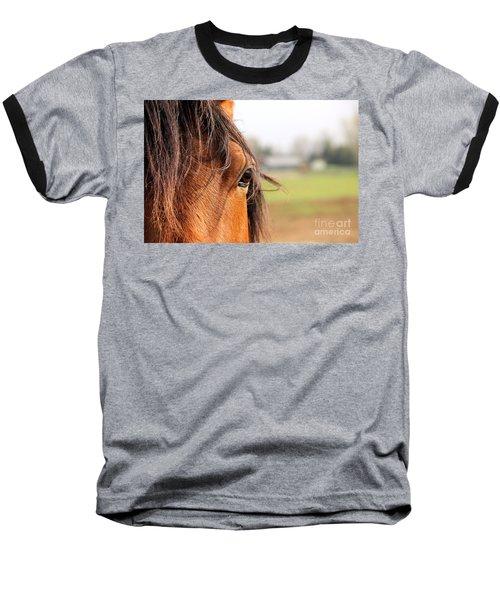 Beautiful Eye Baseball T-Shirt