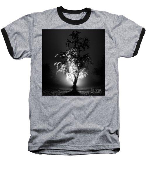 Beautiful Foggy Night 1 Baseball T-Shirt