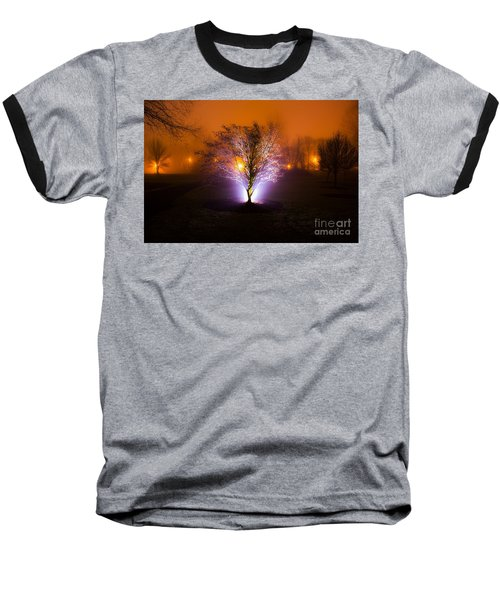Beautiful Foggy Night 2 Baseball T-Shirt