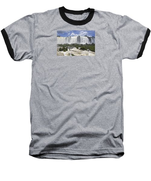 Beautiful Iguazu Waterfalls  Baseball T-Shirt