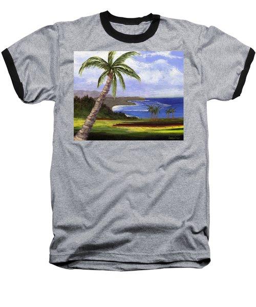 Baseball T-Shirt featuring the painting Beautiful Kauai by Jamie Frier