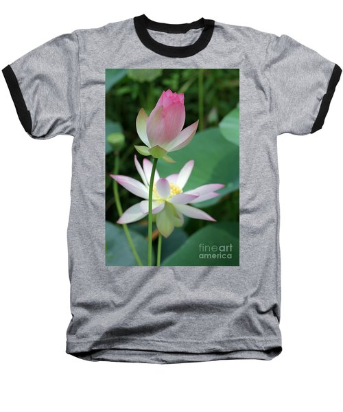 Beautiful Lotus Blooming Baseball T-Shirt