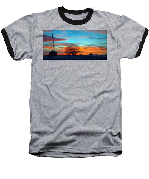 Beautiful Mornin' Panorama Baseball T-Shirt