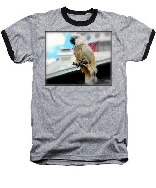 Beautiful Salmon-crested Cockatoo Baseball T-Shirt
