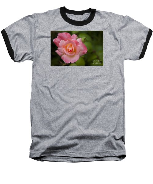 Baseball T-Shirt featuring the photograph Shades Of Pink And Green by David Millenheft