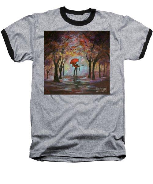Beautiful Romance Baseball T-Shirt by Leslie Allen