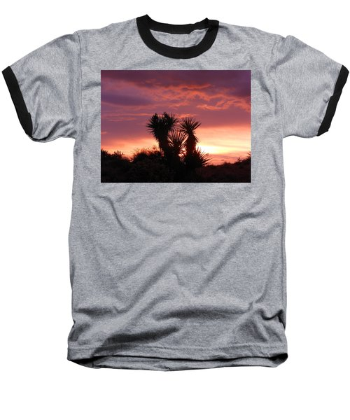 Beautiful Sunset In Arizona Baseball T-Shirt