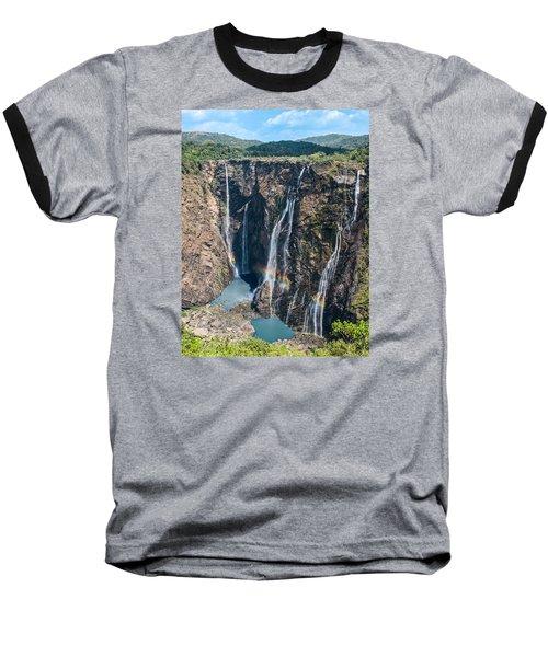 Beautiful Waterfalls In India Baseball T-Shirt