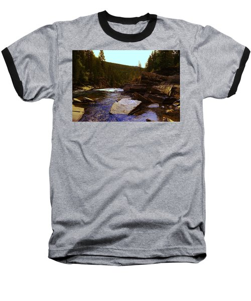 Beautiful Yak River Montana Baseball T-Shirt