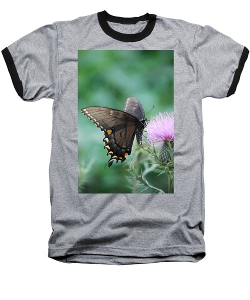 Beauty And Thistle Baseball T-Shirt
