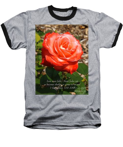 Beauty At Its Best Baseball T-Shirt by Sara  Raber