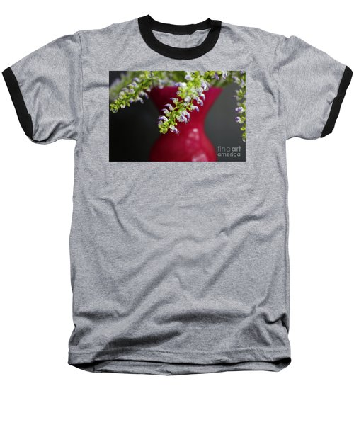 Baseball T-Shirt featuring the photograph Beauty Hangs In The Balance by Ella Kaye Dickey