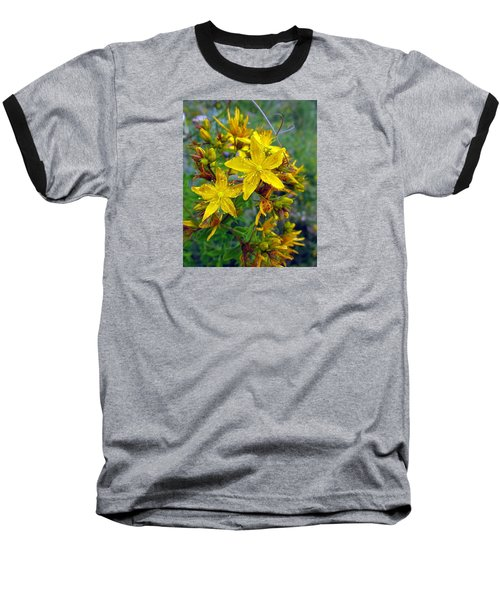 Baseball T-Shirt featuring the photograph Beauty In A Weed by I'ina Van Lawick