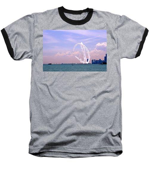 Beauty In The Air Baseball T-Shirt