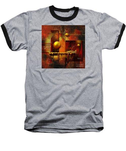 Baseball T-Shirt featuring the digital art Beauty Of An Illusion by Franziskus Pfleghart