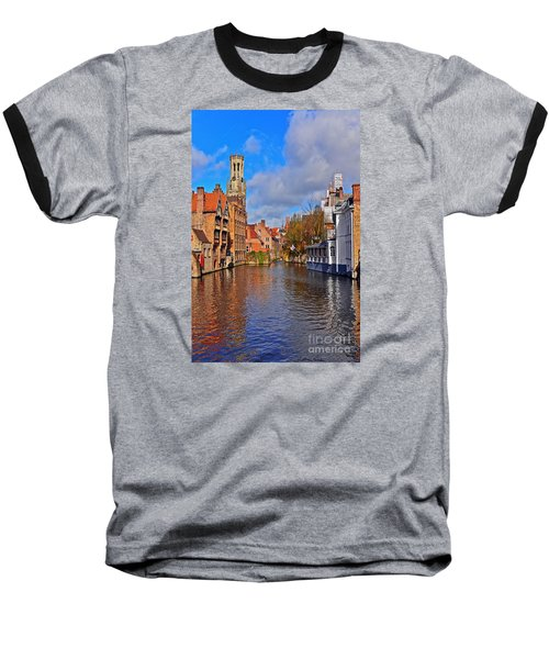Beauty Of Belgium Baseball T-Shirt