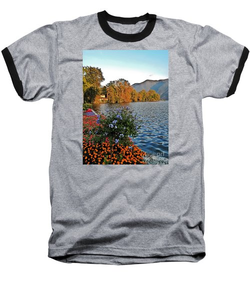 Beauty Of Lake Lugano Baseball T-Shirt