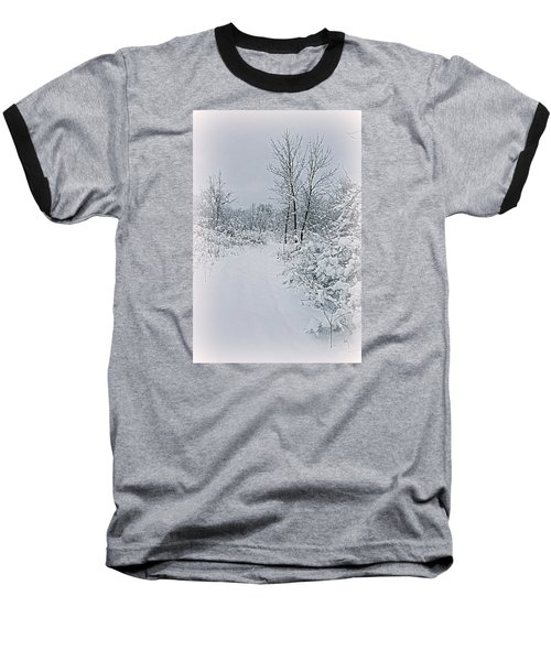 Beauty Of Winter Baseball T-Shirt by Kay Novy