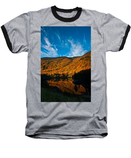 Beaver Pond White Mountain National Forest Baseball T-Shirt