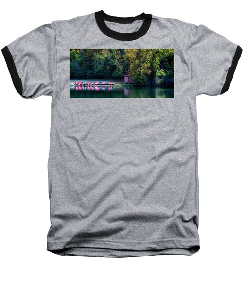 Beavers Bend Reflection Baseball T-Shirt