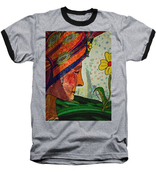 Becoming The Garden - Garden Appreciation Baseball T-Shirt