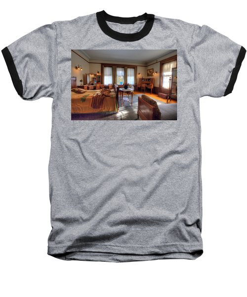 Bedroom Glensheen Mansion Duluth Baseball T-Shirt