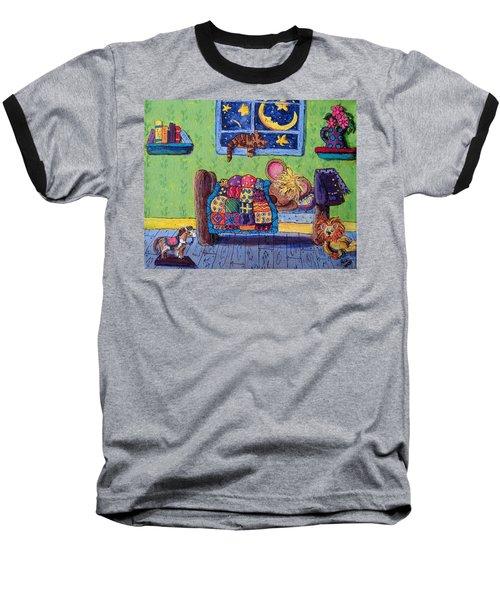 Bedtime Mouse Baseball T-Shirt