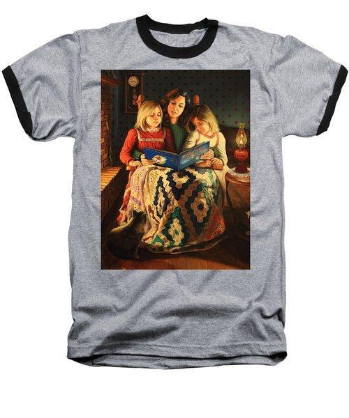 Bedtime Stories Baseball T-Shirt