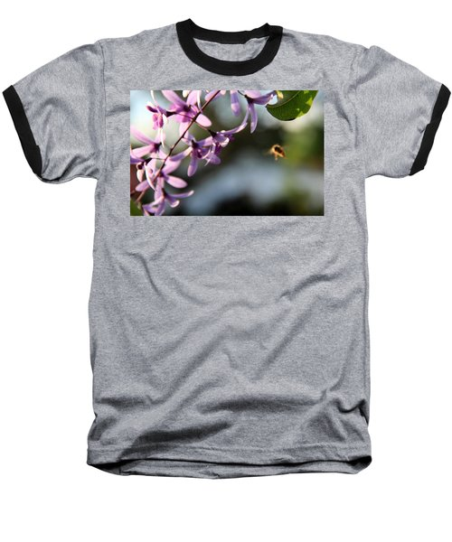 Baseball T-Shirt featuring the photograph Bee Back by Greg Allore