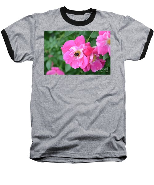 Bee Rosy Baseball T-Shirt