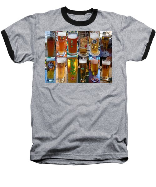 Beers Of Europe Baseball T-Shirt