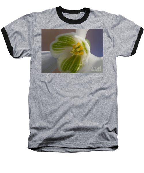 Bee's View Of A Snowdrop Baseball T-Shirt
