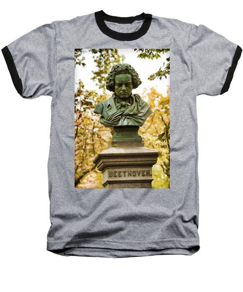 Beethoven In Central Park Baseball T-Shirt