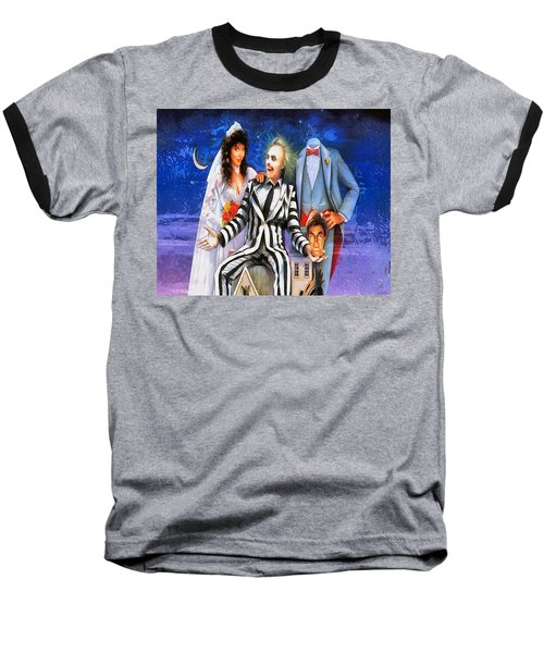 Beetlejuice Baseball T-Shirt by Joe Misrasi