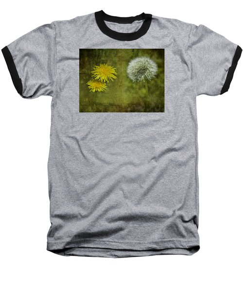 Before And After Dandelions Baseball T-Shirt
