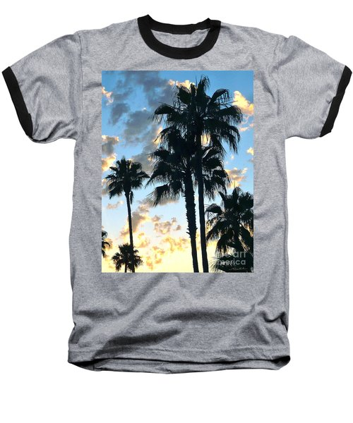 Before The Dusk Baseball T-Shirt by Gem S Visionary