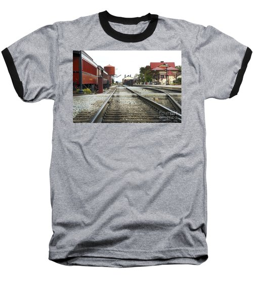 Before The First Passengers Baseball T-Shirt