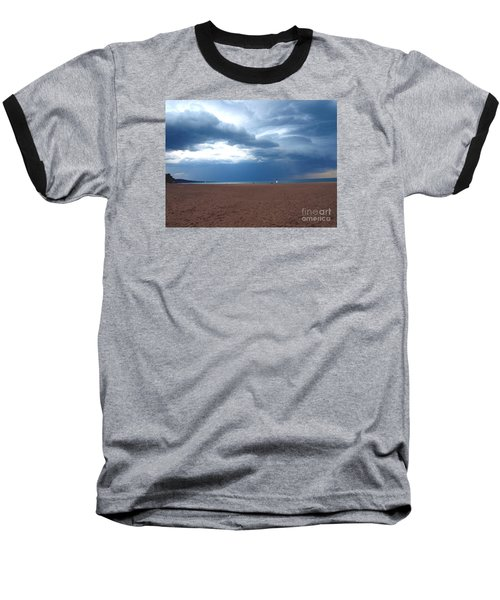 Before The Storm Baseball T-Shirt by Susan  Dimitrakopoulos