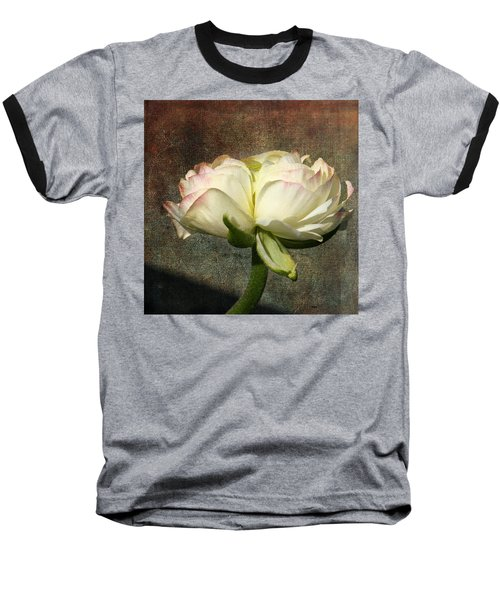 Begonia With A Tint Of Pink Baseball T-Shirt by Denyse Duhaime