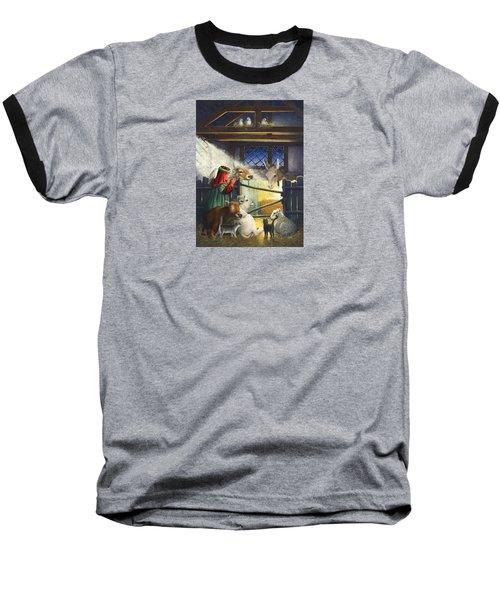 Behold The Child Baseball T-Shirt