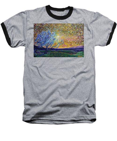 Beholding The Dream Baseball T-Shirt