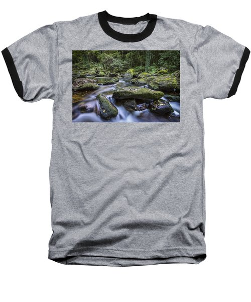 Baseball T-Shirt featuring the photograph Belelle River Neda Galicia Spain by Pablo Avanzini