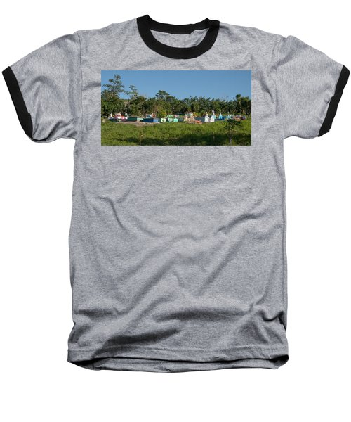 Belize Cemetery Baseball T-Shirt