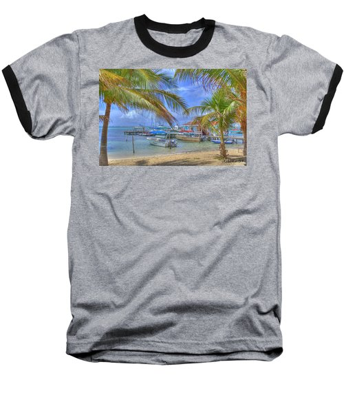 Belize Hdr Baseball T-Shirt