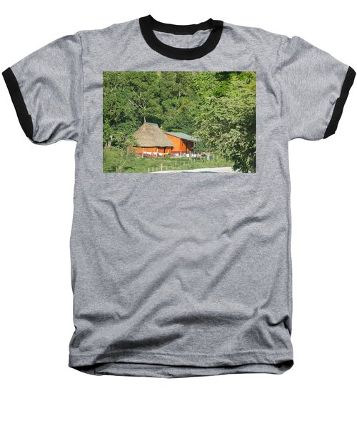 Belize House Baseball T-Shirt