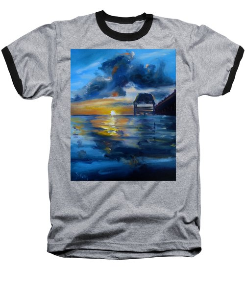 Belizean Sunrise Baseball T-Shirt