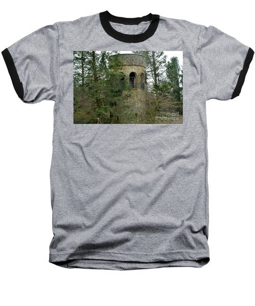 Baseball T-Shirt featuring the digital art Bell Tower by Jeannie Rhode